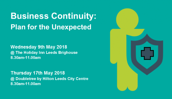 Business Continuity Breakfast Briefing: May 2018