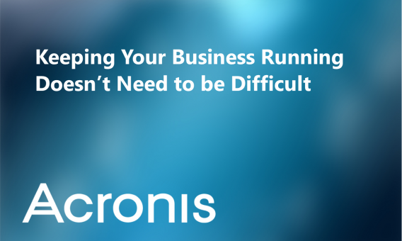Acronis: The Most Reliable & Easy-to-Use Backup for Businesses of All Sizes