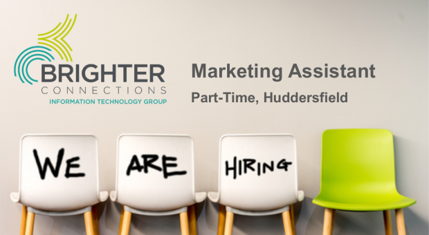 Recruiting: Part-Time Marketing Assistant – Huddersfield
