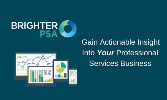 Gain Actionable Insight Into Your Professional Services Business