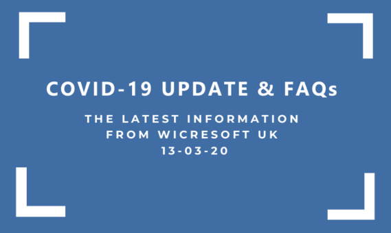 Wicresoft UK COVID-19 Update 13-03-20